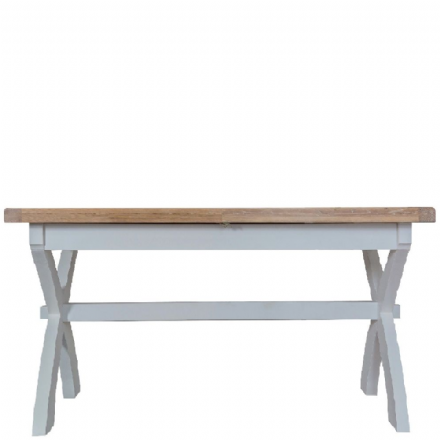 Toulouse Grey 2.5m Cross Extending Table